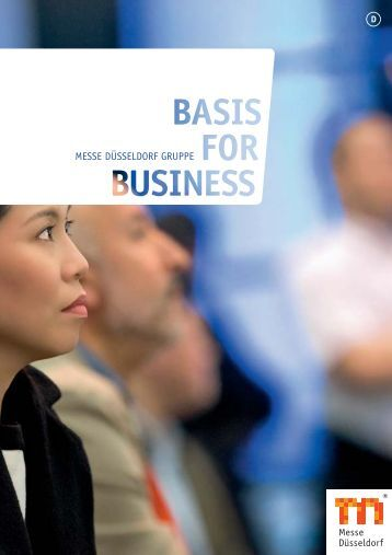 """Basis for Business"" 2013 - Messe Düsseldorf"