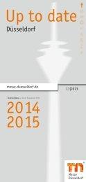 Up to date 2014 2015 - Messe Düsseldorf