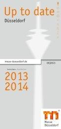 Liste aller Messeveranstaltungen - Messe Düsseldorf