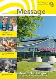 Message Ausgabe 3/2013 (PDF | 9 MB) - Messe Stuttgart
