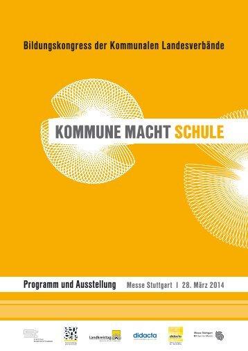 finden Sie das Bildungskongressprogramm zum ... - Messe Stuttgart