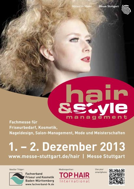 Das komplette Rahmenprogramm der hair & style ... - Messe Stuttgart
