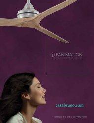 Casa Bruno Fanimation Ventiladores 220v - catálogo 2017