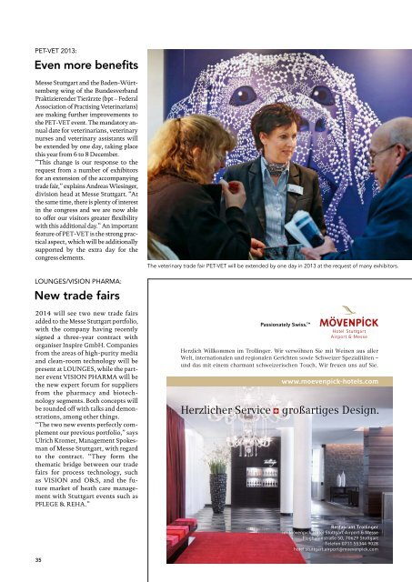 Message issue 3/2013 (PDF   9 MB) - Messe Stuttgart