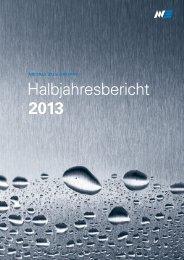 Halbjahresbericht 2013 (PDF) - Metall Zug