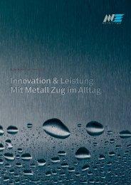 Geschäftsbericht 2012 (PDF) - Metall Zug