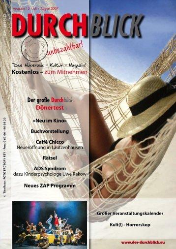 EINBLICK db-magazin.de - Durchblick