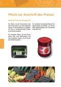 Korrekte Mengen- und Preisangaben CHF - METAS - Seite 6