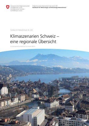 Klimaszenarien Schweiz - eine regionale Übersicht - MeteoSchweiz ...