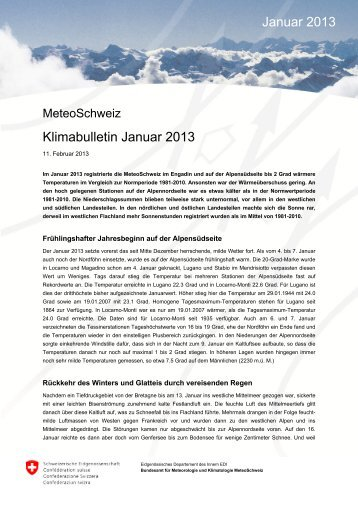 Klimabulletin_Januar_2013.pdf, 2.5 MB - MeteoSchweiz - admin.ch
