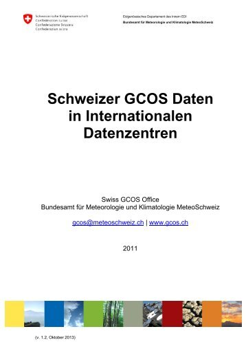 2011_Swiss_GCOS_Office.pdf, 832 KB - MeteoSchweiz - admin.ch