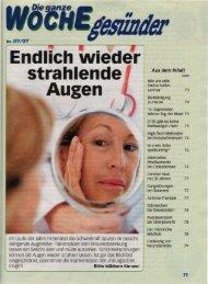 Endlich wieder strahlende Augen - Dr. Wolfgang Metka