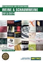 WEINE & SCHAUMWEINE - Metro