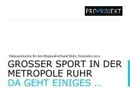 Großer Sport in der Metropole Ruhr