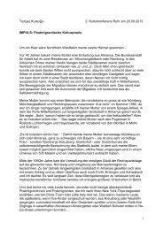 Tunçay Kulaoğlu: IMPULS - Metropole Ruhr
