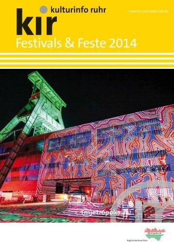 PDF Festivals & Feste 2014 - Metropole Ruhr