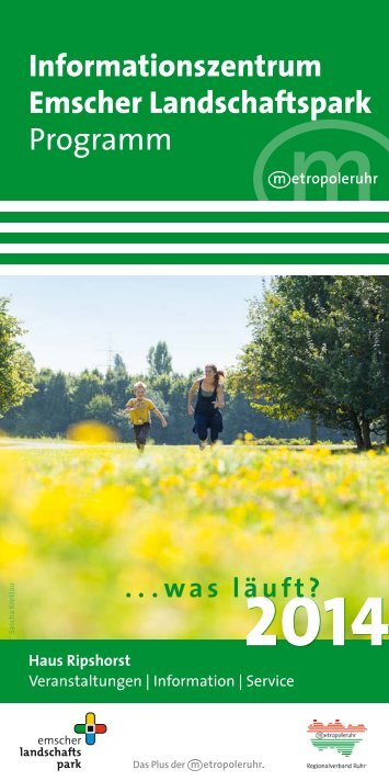 PDF Programm Haus Ripshorst 2014 - Metropole Ruhr