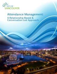 Attendance Management: A Relationship Based & Conversation ...