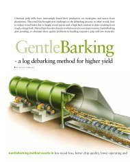 - a log debarking method for higher yield - Metso
