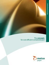 The concepts of cost-efficient containerboard (PDF) - Metso