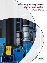 Slurry Hose System Design Manual - Metso