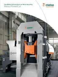 Metso PowerCut - Metso.com