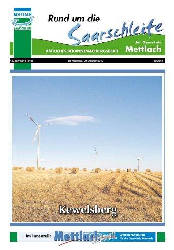 Kewelsberg - Gemeinde Mettlach