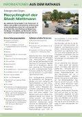 INFORMATIONEN AUS DEM RATHAUS - Stadt Mettmann - Seite 6