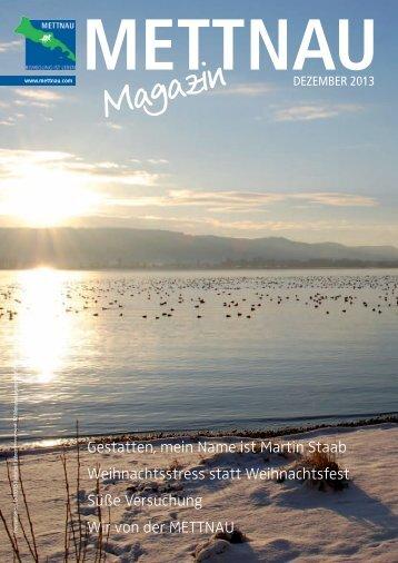 Ausgabe Dezember 2013 - mettnau