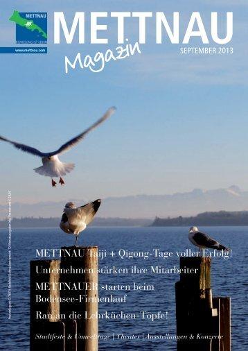 Ausgabe September 2013 - mettnau