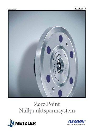 Zero.Point Nullpunktspannsystem - Metzler