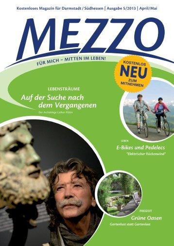 Mezzo 5-2013 - MEZZO-Magazin