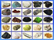 Metallic Ores and Industrial Minerals of the Philippines - Mines and