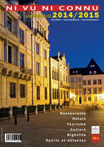 NiVuNiConnu Luxembourg Guide2014/2015