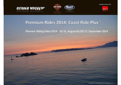 Präsentation Coast Ride - Gerold Vogel AG