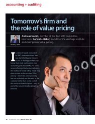 tomorrow's firm and the role of value pricing - Malaysian Institute of ...