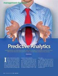 predictive analytics - Malaysian Institute of Accountants