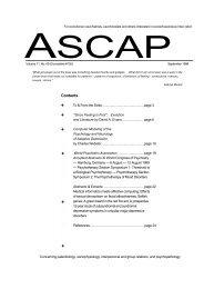ASCAP Vol 11 No 009
