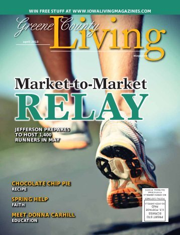 April - Iowa Living Magazines