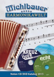 Noten/CD/DVD Katalog 2013 - Michlbauer