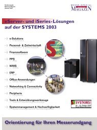 Sonderheft Systems 2003 - Midrange Magazin