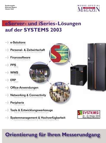 Sonderheft Systems 2003 - Midrange Magazin