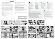 de - Montageplan für integrierte Geschirrspüler mit 45 cm ... - Miele