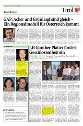 Bauernzeitung - MIEMING TRANSPARENT