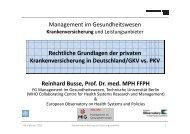 Private Krankenversicherung (PDF, 2,4 MB) - Fachgebiet ...