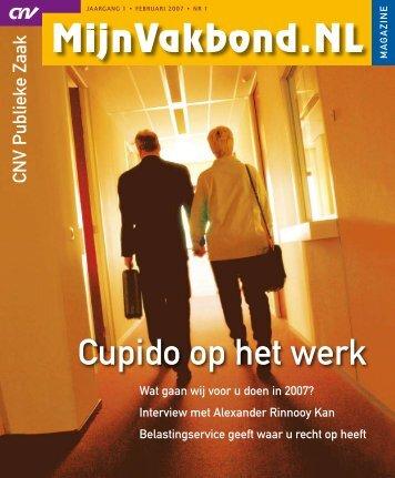 Cupido op het werk - CNV Publieke Zaak