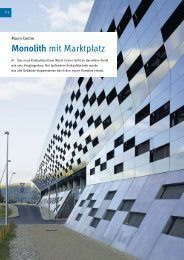 Monolith mit Marktplatz - Mikado