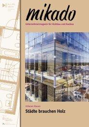 Städte brauchen Holz - Mikado
