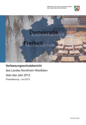 Verfassungsschutz - MIK NRW