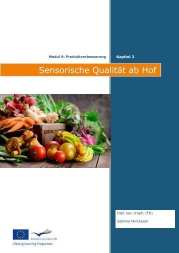 Sensorische Qualität ab Hof - Mikromarkt.eu